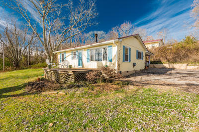 Single Family Home For Sale: 1980 Bluff Rd
