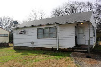 Maryville TN Single Family Home Sold: $72,000