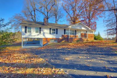 Strawberry Plains Single Family Home For Sale: 4658 Douglas Dam Rd