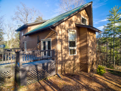 Tellico Plains Single Family Home For Sale: 623 Cane Creek Mtn Rd
