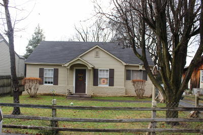 Maryville TN Single Family Home For Sale: $110,000