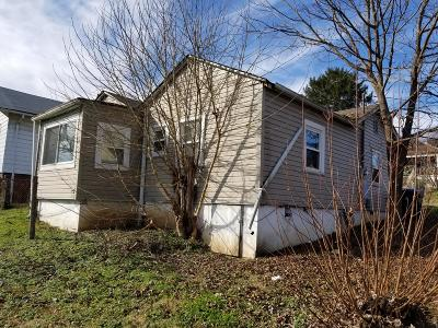 Knoxville TN Single Family Home For Sale: $44,900