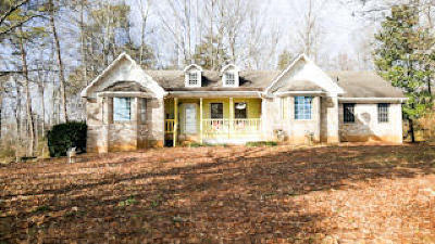 Sweetwater Single Family Home For Sale: 541 County Road 342