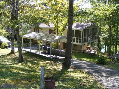 Anderson County, Campbell County, Claiborne County, Grainger County, Union County Single Family Home For Sale: 450 Cape Norris Rd