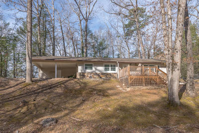 Gatlinburg Single Family Home For Sale: 404 Pritchard Drive