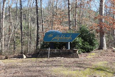 Tellico Plains Residential Lots & Land For Sale: The Highlands