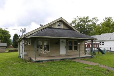 Middlesboro Single Family Home For Sale: 609 N 28th St