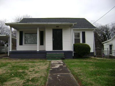 Single Family Home For Sale: 2820 Dodd St
