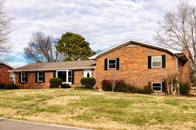 Knoxville Single Family Home For Sale: 7324 Hallbrook Rd