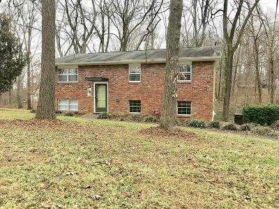 Knoxville TN Single Family Home Pending - Continue To Show - F: $225,000