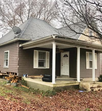 Knoxville TN Single Family Home For Sale: $49,900
