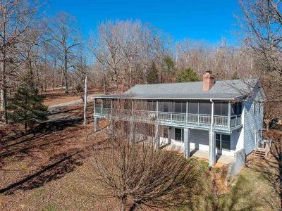 Single Family Home For Sale: 1765 Stump Hollow Rd