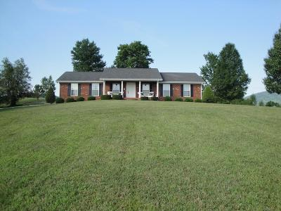 Cocke County Single Family Home For Sale: 2576 Bogard Rd