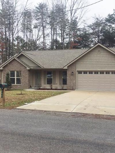Crossville TN Single Family Home For Sale: $214,900