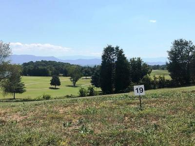 Anderson County, Campbell County, Claiborne County, Grainger County, Hancock County, Hawkins County, Jefferson County, Union County Residential Lots & Land For Sale: Lot 19-Fairway Drive
