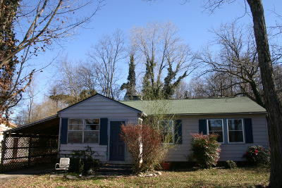 Maryville TN Single Family Home For Sale: $59,900