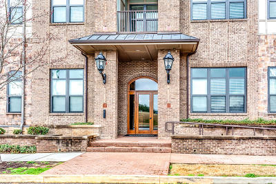 Knoxville Condo/Townhouse For Sale: 445 W Blount Ave #Apt 505