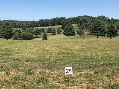 Anderson County, Campbell County, Claiborne County, Grainger County, Hancock County, Hawkins County, Jefferson County, Union County Residential Lots & Land For Sale: Lot 29-Fairway Drive