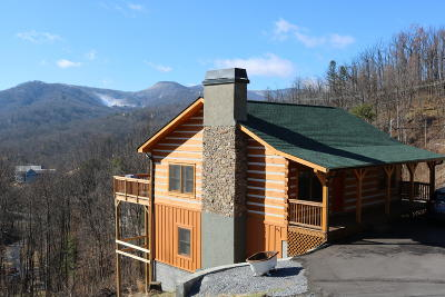 Gatlinburg Single Family Home For Sale: 817 Wiley Oakley Drive