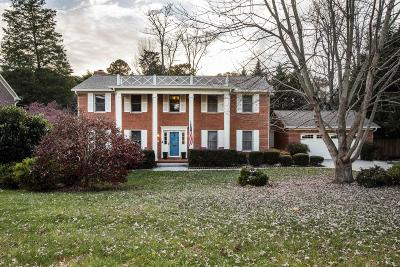 Single Family Home For Sale: 609 Laurel Valley Rd