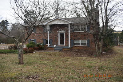 Maryville Single Family Home For Sale: 1651 Middlesettlements Rd