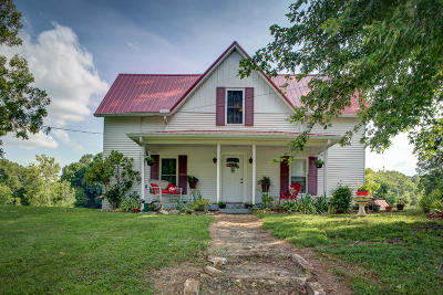 Talbott Single Family Home For Sale: 789 Chucky Pike