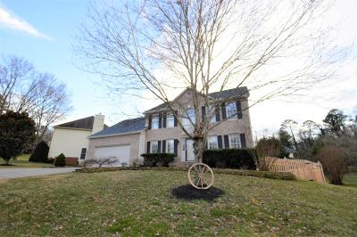 Knoxville Single Family Home For Sale: 9921 Delle Meade Drive