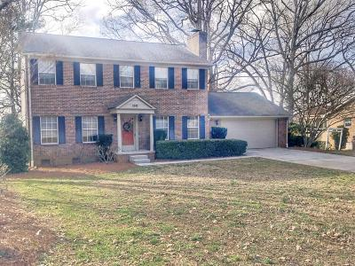 Knoxville Single Family Home For Sale: 1011 Ashby Rd
