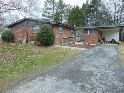 Middlesboro Single Family Home For Sale: 910 Chichester Ave. Ave