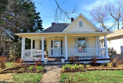 Knoxville Single Family Home For Sale: 1215 Luttrell St