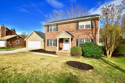 Knoxville Single Family Home For Sale: 9421 Kimborough Drive