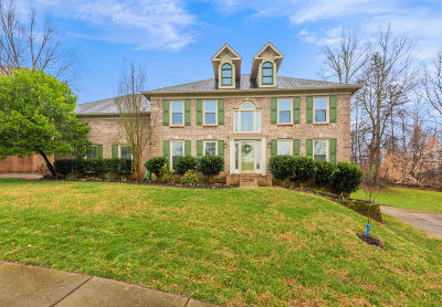 Knoxville Single Family Home For Sale: 1717 Dunwoody Blvd
