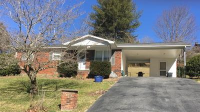 Harrogate Single Family Home For Sale: 379 Pump Springs Rd