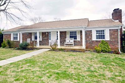 Knoxville Single Family Home For Sale: 7600 Twining Drive