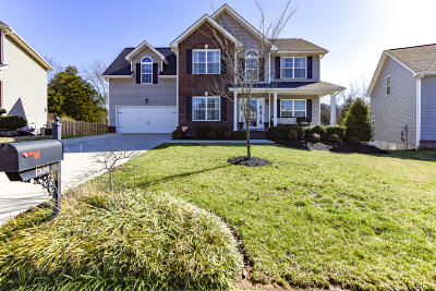 Knoxville Single Family Home For Sale: 1534 Chariot Lane