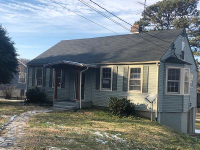 Knoxville TN Single Family Home For Sale: $82,000