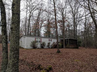 Crossville Single Family Home For Sale: 7033 Talahatchie Drive