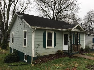 Knoxville TN Single Family Home For Sale: $88,400