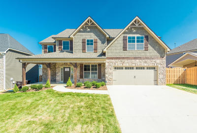 Knoxville Single Family Home For Sale: 1828 Pierceson Point Lane, Lot 26