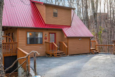 Gatlinburg Single Family Home For Sale: 1127 Raintree Rd