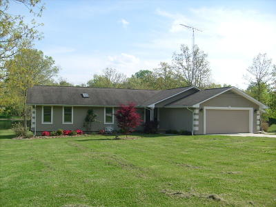 Crossville Single Family Home For Sale: 8831 Cherokee Tr