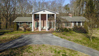 Maryville Single Family Home For Sale: 1323 Tuckaleechee Tr