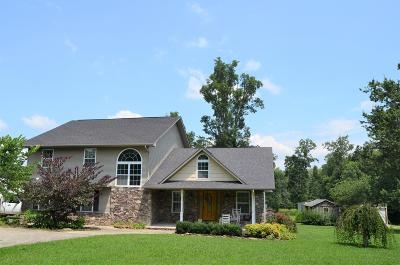 Crossville Single Family Home For Sale: 10265 Vandever Rd