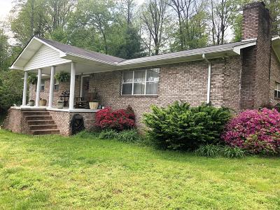Oliver Springs Single Family Home For Sale: 4749 Harriman Hwy