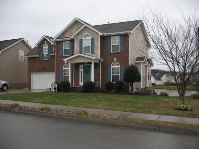 Knoxville Single Family Home For Sale: 7327 Olive Branch Lane