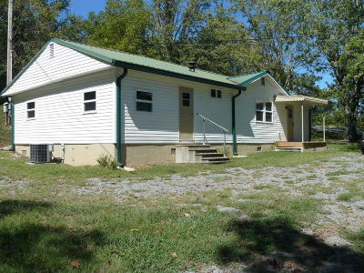 Tazewell Single Family Home For Sale: 2739 Cave Springs Rd