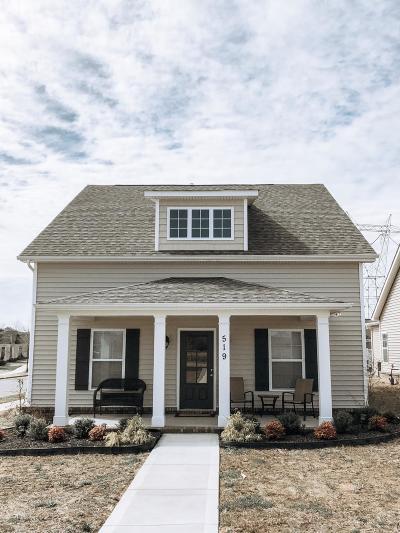 Oak Ridge Single Family Home For Sale: 519 Broadberry Ave