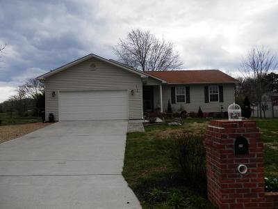Maryville Single Family Home Pending - Continue To Show: 218 Twin Ridges Drive