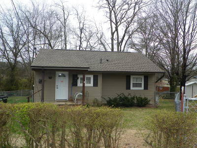 Anderson County Single Family Home For Sale: 641 W Outer Drive