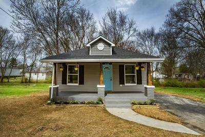 Maryville Single Family Home Pending - Continue To Show: 119 Pinedale St